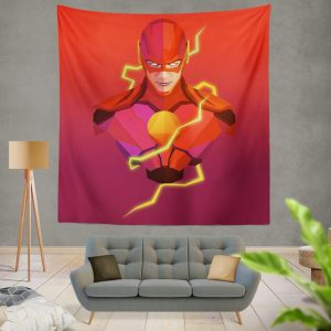 The Flash DC Universe Artwork Wall Hanging Tapestry
