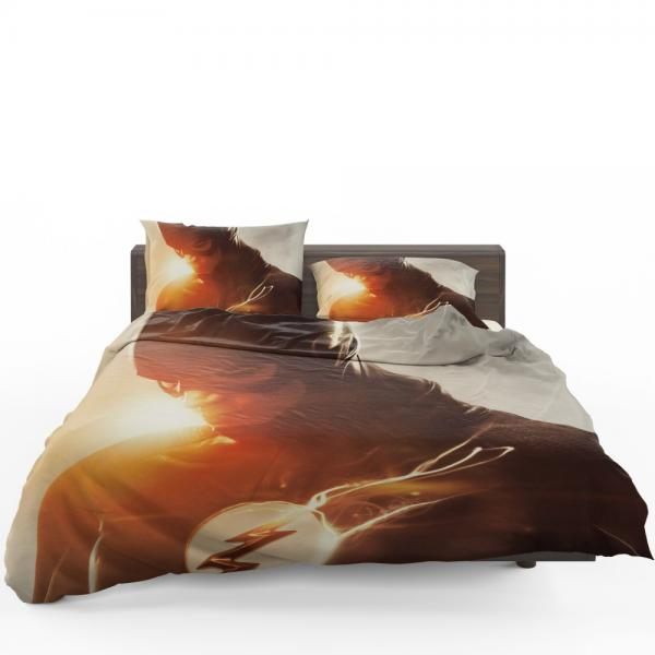 The Flash Grant Gustin DC Justice League Bedding Set