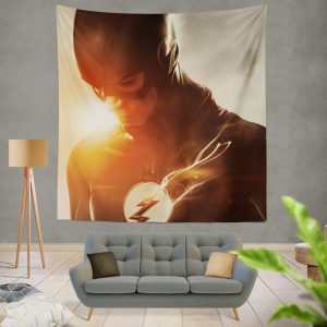 The Flash Grant Gustin DC Justice League Wall Hanging Tapestry