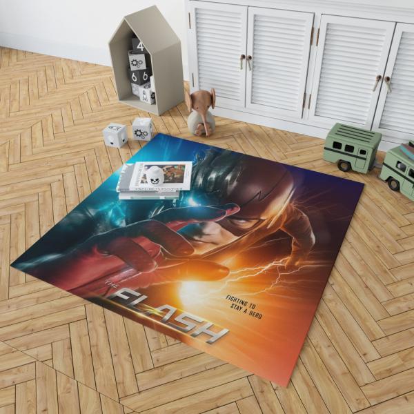 The Flash Grant Gustin Season 3 Bedroom Living Room Floor Carpet Rug
