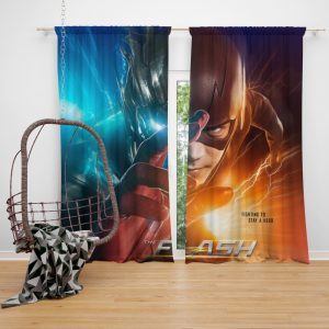 The Flash Grant Gustin Season 3 Bedroom Window Curtain