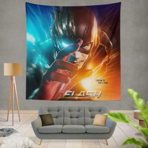 The Flash Grant Gustin Season 3 Wall Hanging Tapestry