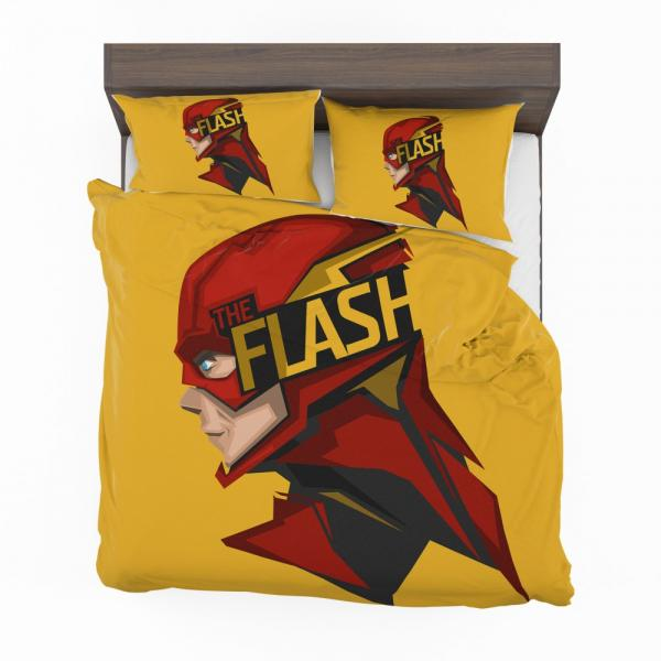 The Flash Rebirth Superhero DC Bedding Set
