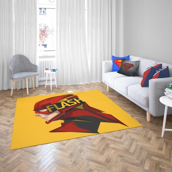 The Flash Rebirth Superhero DC Bedroom Living Room Floor Carpet Rug