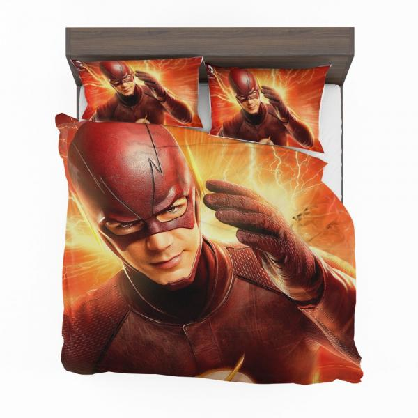 The Flash Season 2 Grant Gustin Barry Allen Bedding Set