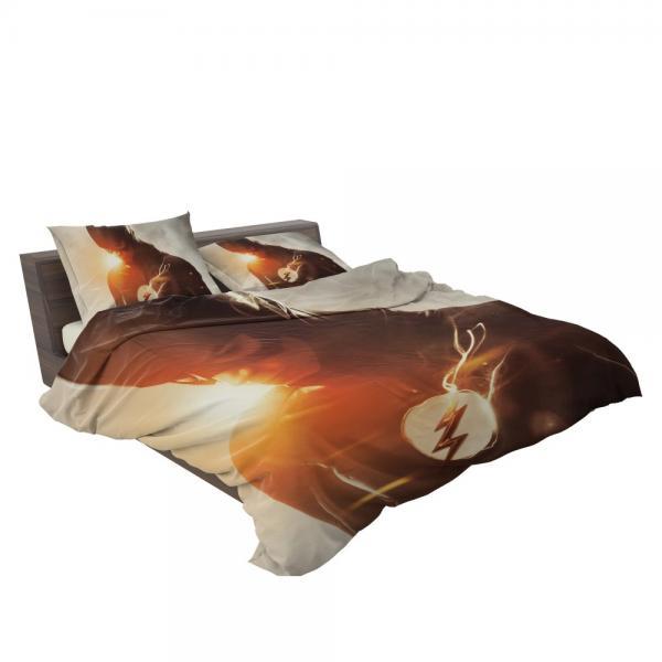 The Flash TV Show Superhero Flash Grant Gustin Barry Allen Bedding Set