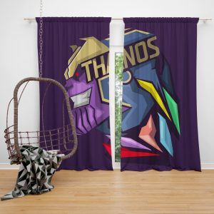 The Thanos Imperative Marvel Comics Bedroom Window Curtain