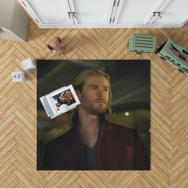 Thor Avengers Age of Ultron Movie The Avengers Chris Hemsworth Bedroom Living Room Floor Carpet Rug