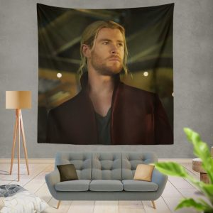 Thor Avengers Age of Ultron Movie The Avengers Chris Hemsworth Wall Hanging Tapestry