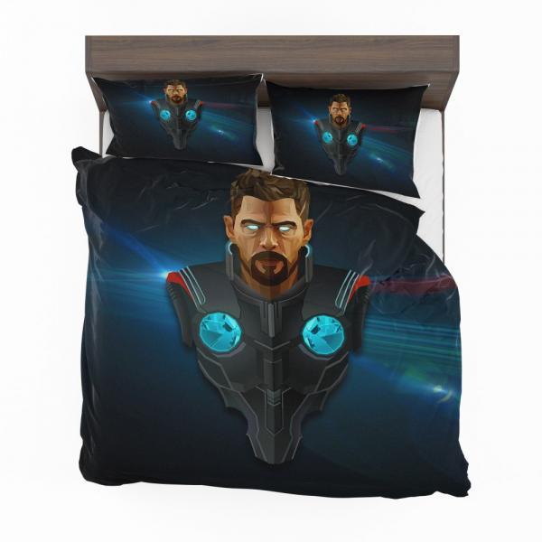 Thor Avengers Infinity War Marvel Comics Bedding Set