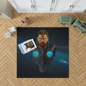 Thor Avengers Infinity War Marvel Comics Bedroom Living Room Floor Carpet Rug