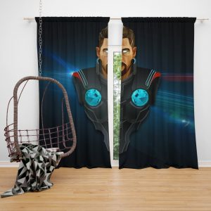 Thor Avengers Infinity War Marvel Comics Bedroom Window Curtain