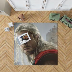 Thor Marvel Avengers Age of Ultron Chris Hemsworth Bedroom Living Room Floor Carpet Rug