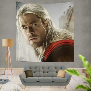 Thor Marvel Avengers Age of Ultron Chris Hemsworth Wall Hanging Tapestry