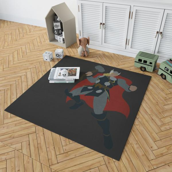 Thor Marvel Avengers Comics Bedroom Living Room Floor Carpet Rug