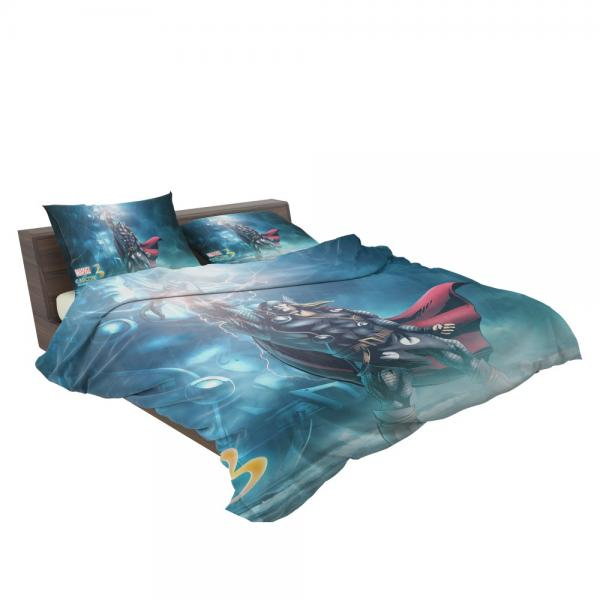 Thor Marvel vs Capcom 3 Fate of Two Worlds Video Game Bedding Set