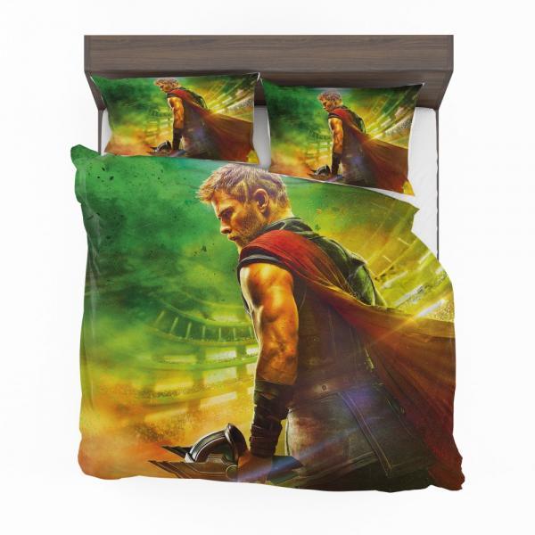 Thor Ragnarok God Squad Chris Hemsworth Bedding Set