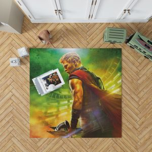 Thor Ragnarok God Squad Chris Hemsworth Bedroom Living Room Floor Carpet Rug