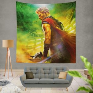 Thor Ragnarok God Squad Chris Hemsworth Wall Hanging Tapestry
