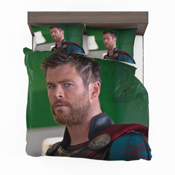 Thor Ragnarok Movie Avengers Unity Squad Chris Hemsworth Bedding Set