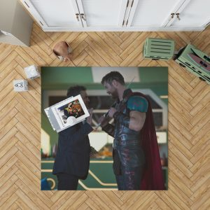 Thor Ragnarok Movie Mark Ruffalo Bruce Banner Chris Hemsworth Bedroom Living Room Floor Carpet Rug