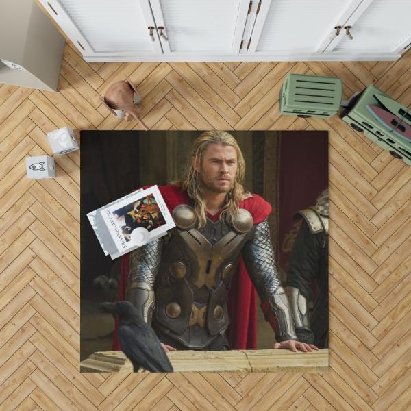 Thor The Dark World Marvel MCU Movie Bedroom Living Room Floor Carpet Rug