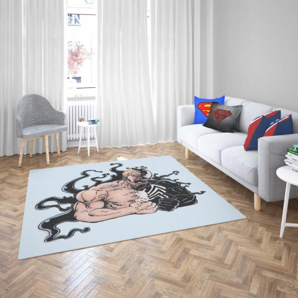 Venom Comics Agents of Cosmos Bedroom Living Room Floor Carpet Rug