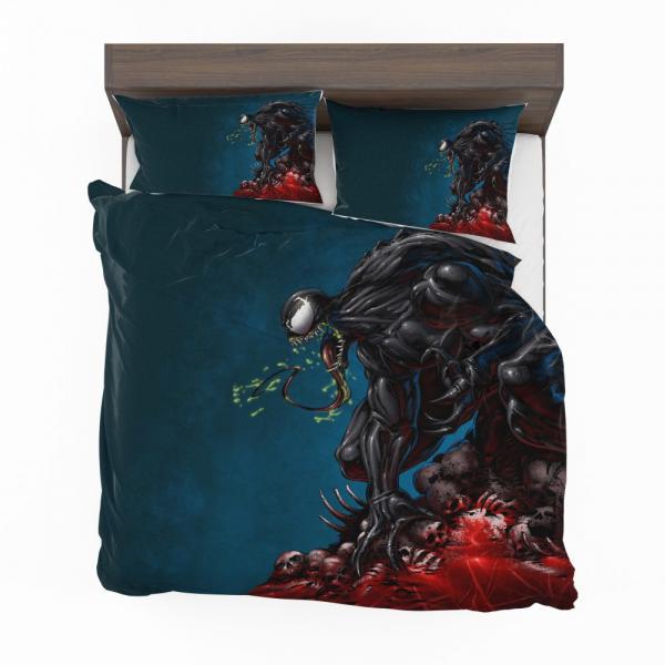 Venom Comics New Warriors Marvel Bedding Set