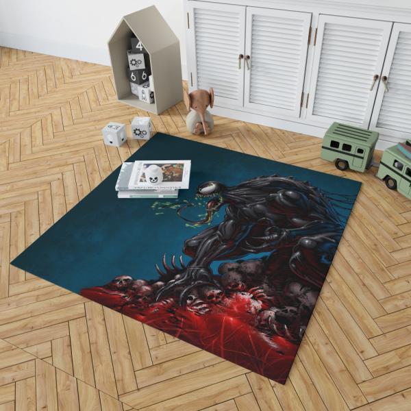 Venom Comics New Warriors Marvel Bedroom Living Room Floor Carpet Rug