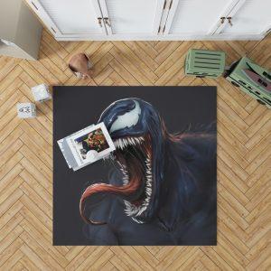 Venom Comics New Warriors Marvel MCU Bedroom Living Room Floor Carpet Rug