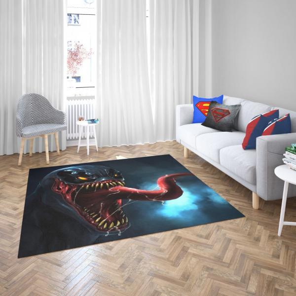 Venom Comics Sinister Six Marvel Bedroom Living Room Floor Carpet Rug