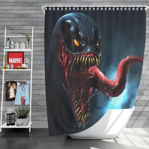Venom Comics Sinister Six Marvel Shower Curtain