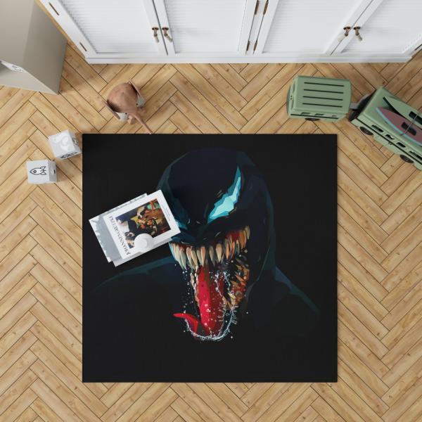 Venom Comics Symbiote Imperium Marvel Bedroom Living Room Floor Carpet Rug