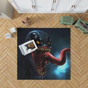 Venom Comics The Alien Costume Bedroom Living Room Floor Carpet Rug
