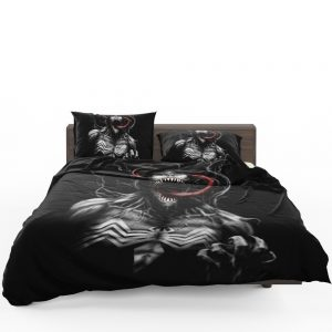 Venom Comics X-Men Blue Marvel Bedding Set