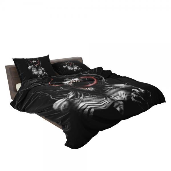 Venom Comics X-Men Blue Marvel Bedding Set