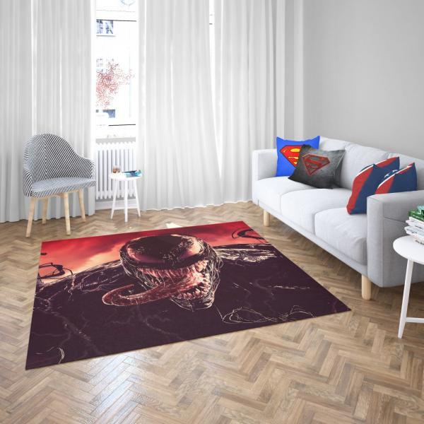 Venom Marvel Comics Kree Empire Bedroom Living Room Floor Carpet Rug