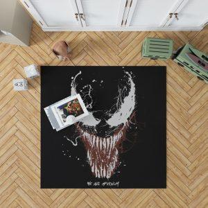 Venom Marvel Comics Super Hero Bedroom Living Room Floor Carpet Rug