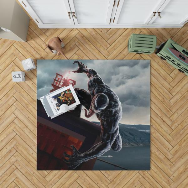 Venom Marvel Comics Thunderbolts Project Rebirth Bedroom Living Room Floor Carpet Rug