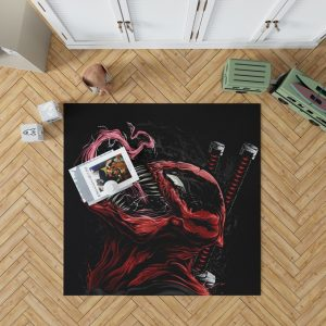Venom Movie Agents of Cosmos Tom Hardy Bedroom Living Room Floor Carpet Rug
