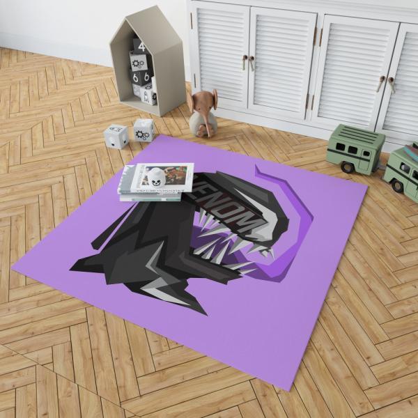 Venom Movie Eddie Brock Carlton Drake Antihero Symbiote Bedroom Living Room Floor Carpet Rug