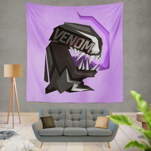 Venom Movie Eddie Brock Carlton Drake Antihero Symbiote Wall Hanging Tapestry