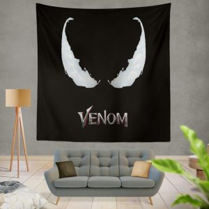 Venom Movie Marvel Project Rebirth Wall Hanging Tapestry