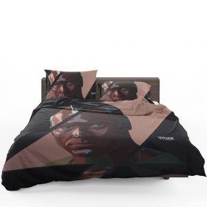 Vision Marvel American Comics Super Hero Bedding Set