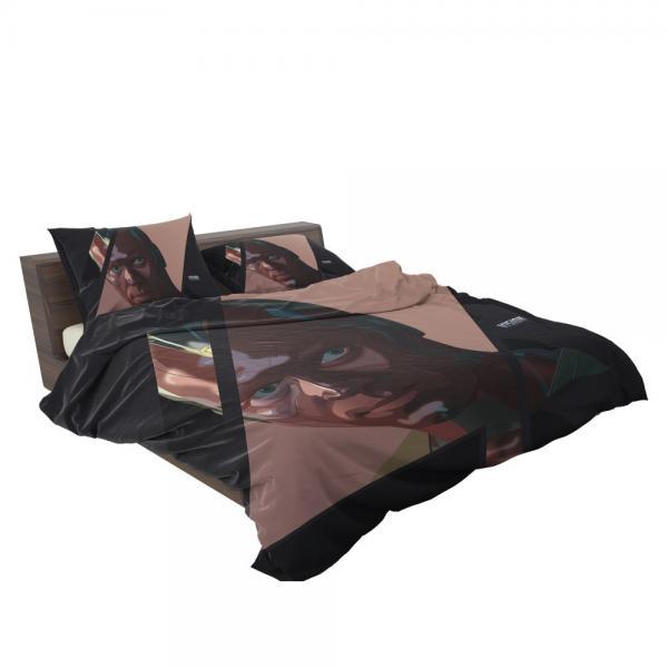 Vision Marvel American Comics Super Hero Bedding Set
