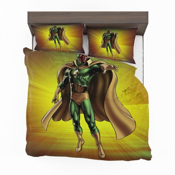 Vision Marvel Comics Avengers AI Bedding Set