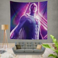 Vision in Marvel Avengers Infinity War Paul Bettany Wall Hanging Tapestry