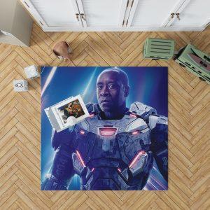 War Machine Avengers Infinity War Movie Bedroom Living Room Floor Carpet Rug