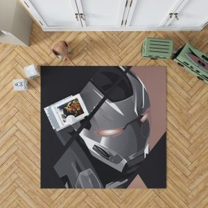 War Machine James Rhodes SHIELD Bedroom Living Room Floor Carpet Rug