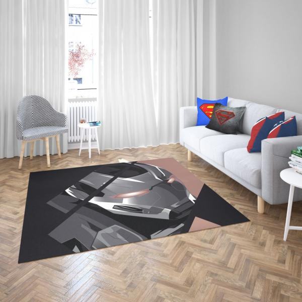 War Machine James Rhodes SHIELD Bedroom Living Room Floor Carpet Rug